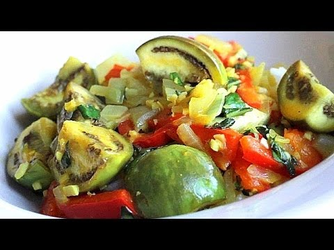 Thai Eggplant Recipe –easy, delicious curry