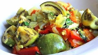 Thai Eggplant Recipe --easy, delicious curry