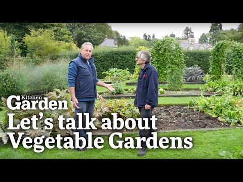 Let's Talk About... VEGETABLE GARDENS | Easton Walled Garden & Kitchen Garden