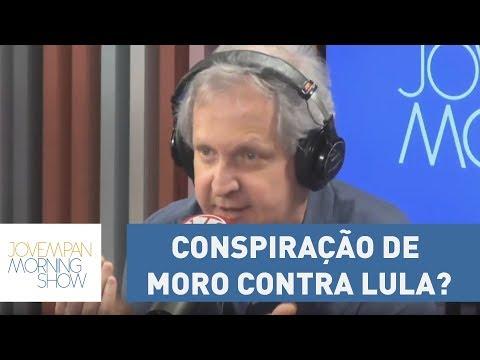 Conspiração de Moro contra Lula? Augusto Nunes opina