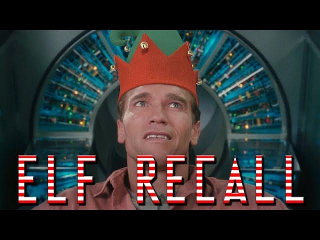 Elf Recall - Arnold Schwarzenegger - Total Recall Christmas Reboot