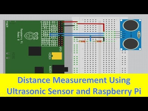 ultrasonic sensor interfacing with raspberry pi youtube rh youtube com