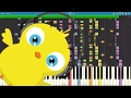 Download IMPOSSIBLE REMIX - El Pollito Pio - Pulcino Pio - Piano Version MP3 song and Music Video