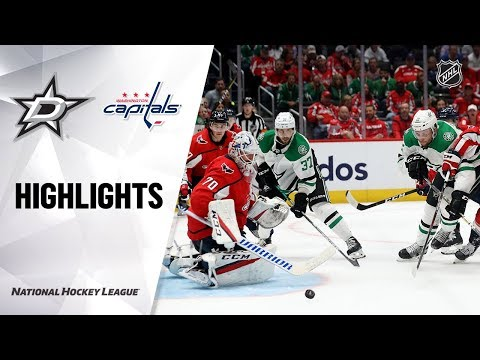 Stars @ Capitals 10/8/19 Highlights