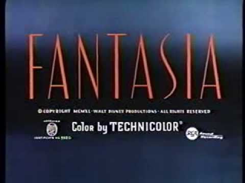 Opening To Fantasia 1991 Vhs Hq Youtube
