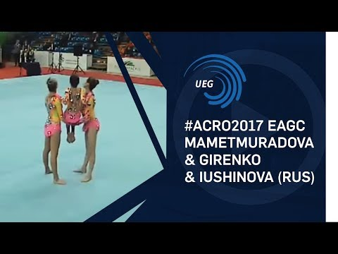 Women's group Russia - 2017 European Silver Medallists 11 - 16 final