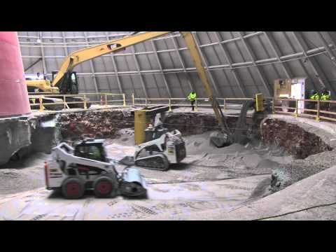 Watch the National Corvette Museum sinkhole being filled in by R/C cars