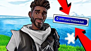 """How To Pass """"Level 2 Structures Built"""" On Save The World   Fortnite Guide!"""