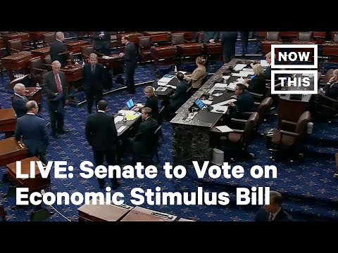 Senate Expected to Vote on Coronavirus Relief Package | LIVE | NowThis