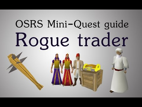 [OSRS] Rogue trader mini-quest guide (unlocking blackjacks(o))