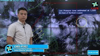Public Weather Forecast Issued at 4:00 AM July 24, 2018