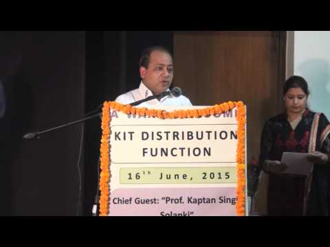 Public Speaking at Law Auditorium at Panjab University Chandigarh