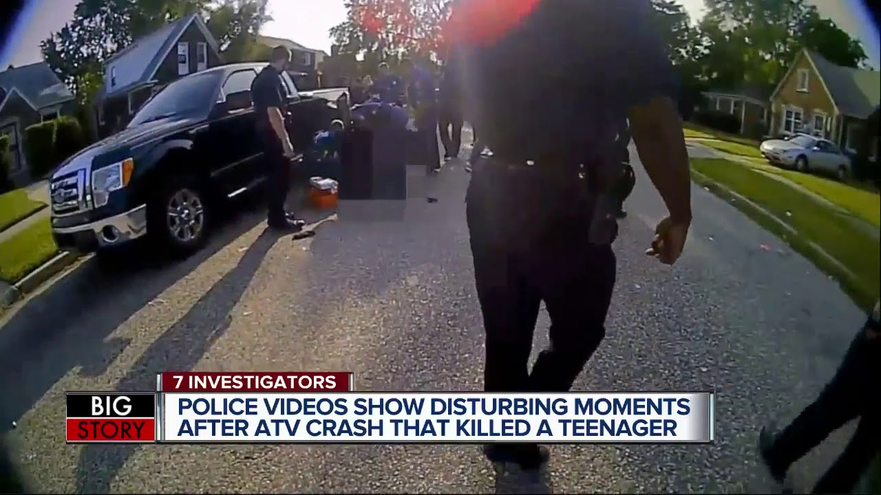 Disturbing police video: The moments after ATV crash that killed tasered  teen