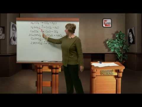 Химия 8 класс.Основные классы неорганических соединений.