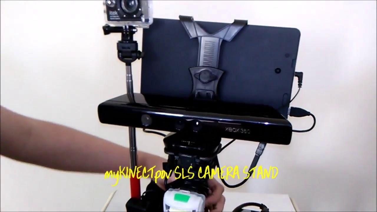 Homemade Xbox Kinect 360 Sensor Bar 3d, IR SLS Portable Camera and Handheld  Tripod Review