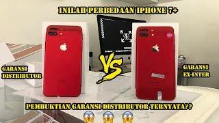 Gambar cover INILAH PERBEDAAN IPHONE 7+ GARANSI DISTRIBUTOR & EX-INTER
