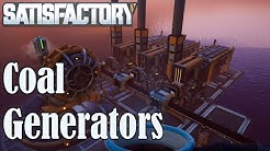 Beginners Coal Generator guide, Tutorial | Satisfactory Gameplay