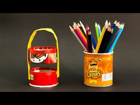 5 Creative Ways To Reuse And Recycle Pringles Can