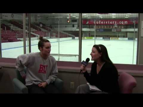 Women's Hockey East All-Access featuring Boston University junior forward Marie-Philip Poulin