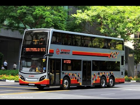 The History of Singapore's Transit Buses Part 3 (2012-2015 and Beyond)