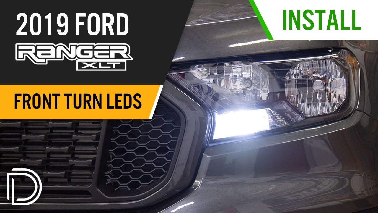 How To Install Switchback Front Turn Signal Led Bulbs For 2019 Ford Ranger Diode Dynamics