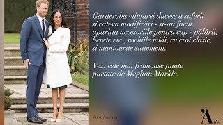 Cele mai memorabile tinute purtate de Meghan Markle