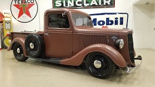 1936 Ford Truck Nostalgia V8 Flathead Custom Hot Rod Barrett Jackson Pickup