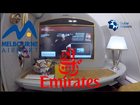 Emirates FIRST CLASS Experience | TRIPREPORT | Melbourne - Dubai | Airbus A380