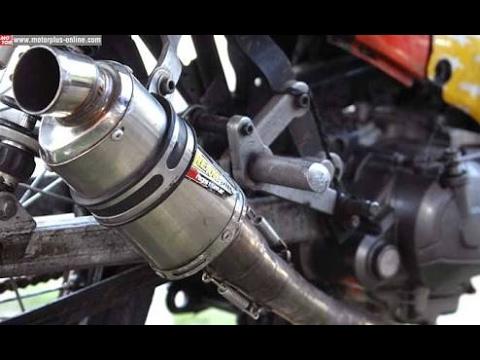 1 Sounds Exhaust Vrc Yamaha Jupiter Z Standart Youtube