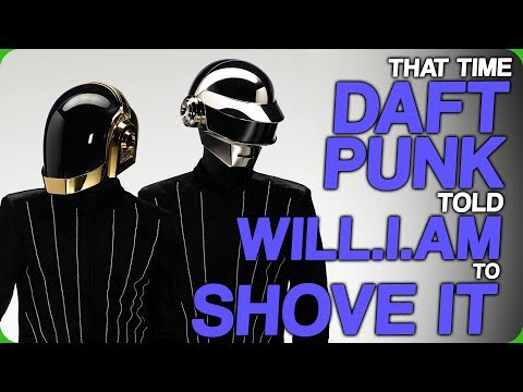 That Time Daft Punk Told will.i.am to Shove It (Getting Angry at Plagiarism)