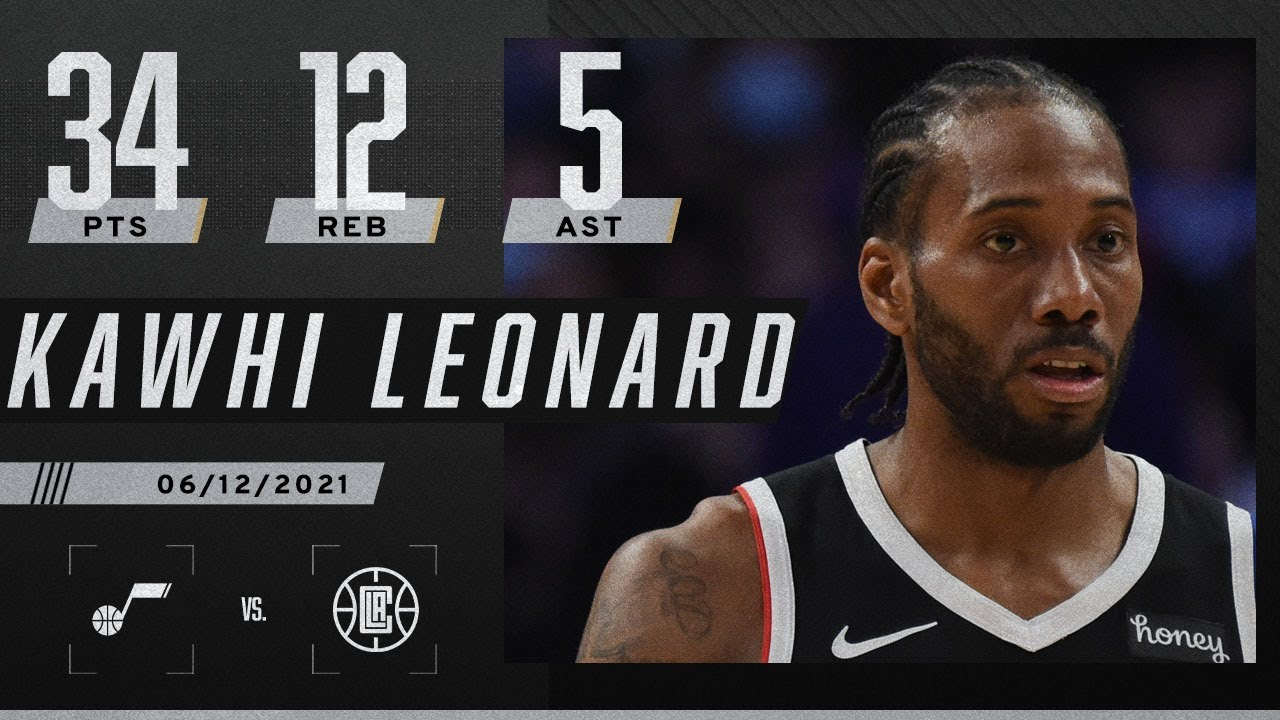 Download Kawhi Leonard's 34 PTS fuel Clippers to Game 3 win ‼️