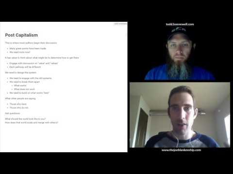 Hacking Capitalism Live Stream: Episode 13 - Post Capitalism