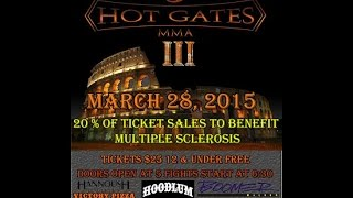 Hot Gates MMA III Adrian Barber vs Cody Taylor