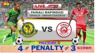 🔴#LIVE: YANGA SC vs SIMBA SC (P-4 - 3) - MAPINDUZI CUP FINAL, UWANJA wa AMAANI - ZANZIBAR