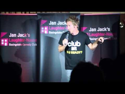 Russell Hicks improvised comedy set at Jan Jack's Laughter House, Basingstoke