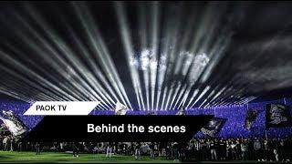 Behind the scenes: Το παρασκήνιο της απονομής - PAOK TV