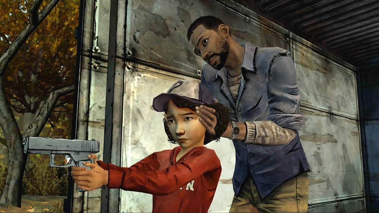 What happens if clementine doesnt shoot lee