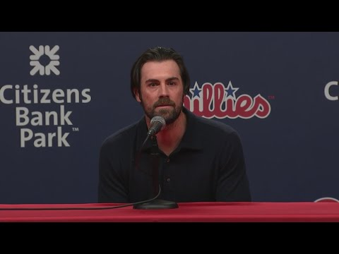 """Cole Hamels On Roy Halladay: """" We really, really are going to miss him"""""""