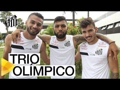 Meninos da Vila na Seleção Olímpica!