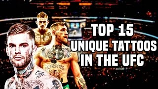 Top 15: Unique Tattoos In The UFC