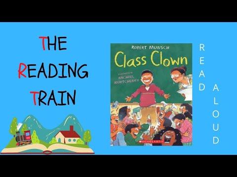 📕 Kids Book Read Aloud: Class Clown By Robert Munsch