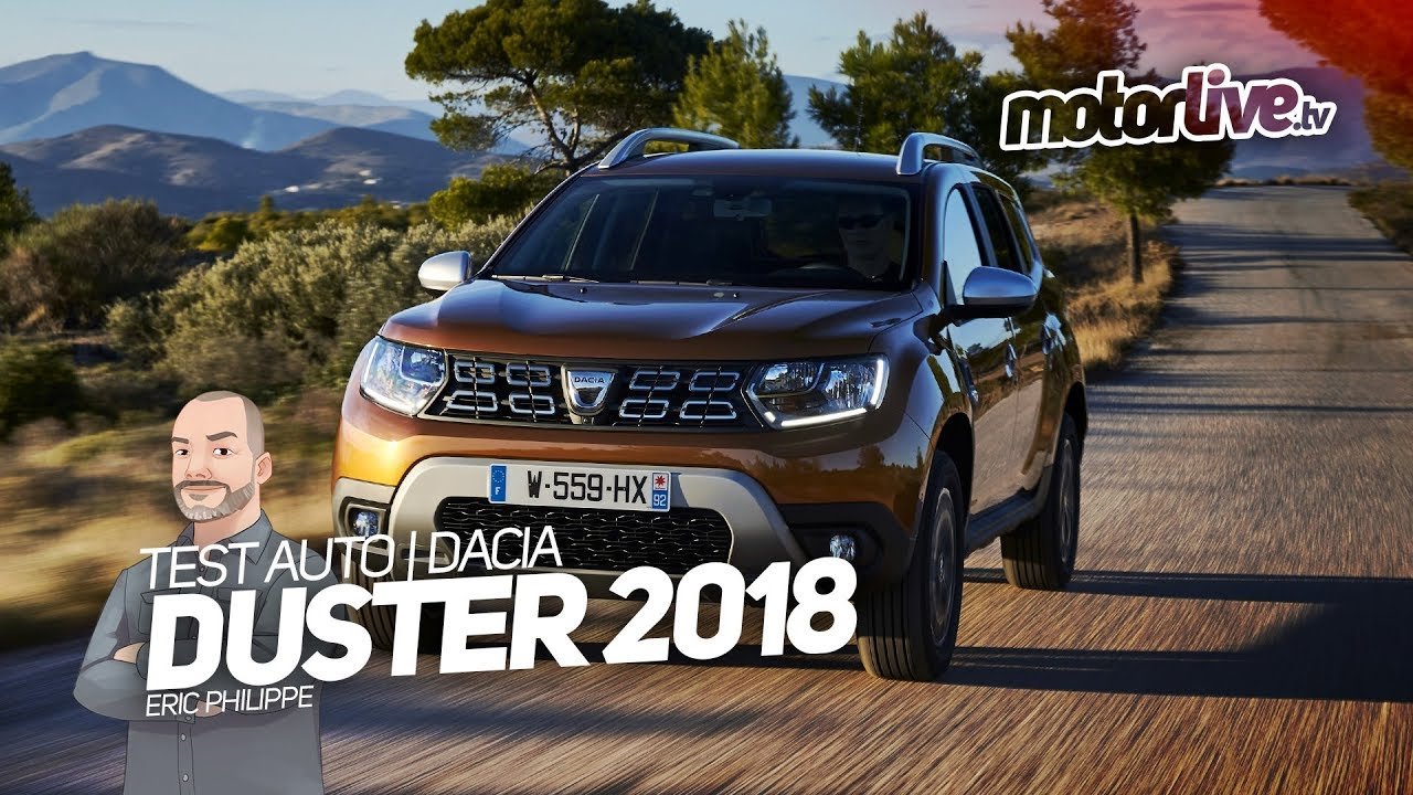 dacia duster 2018 toujours aussi attractif essai auto youtube. Black Bedroom Furniture Sets. Home Design Ideas