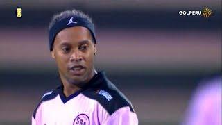 Ronaldinho Skills Show vs Cantolao 13.06.2018