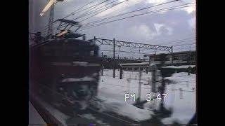 (非HD)「はつかり22号」右窓車窓 青森発車