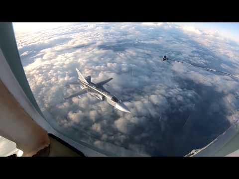 Дозаправка самолетов в