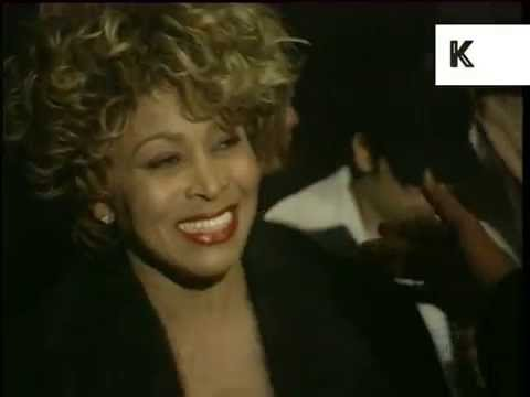 1996 Brit Awards, Tina Turner Backstage, 1990s London Music Archive Footage