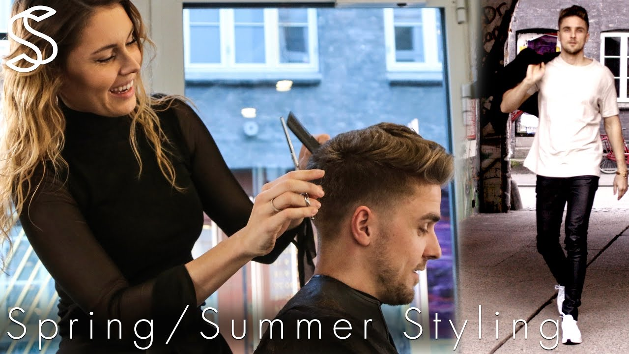 Summer Spring Hairstyle Outfit Mens Fashion And Hair Slikhaar