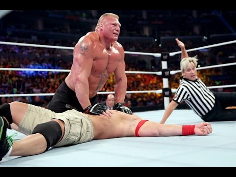 WWE: John Cena vs Brock Lesnar - WWE Night Of Champions 2014 (Full Match HD)