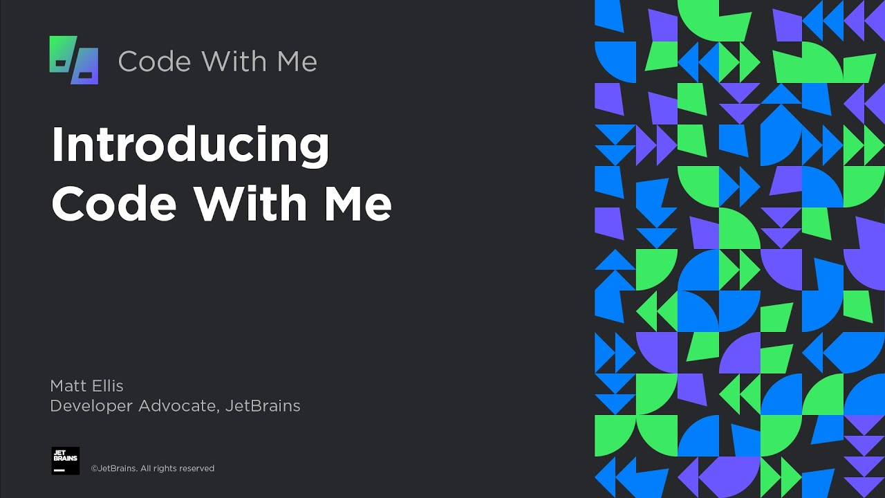 Introducing Code With Me - Collaborative Coding