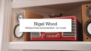 Nigel Wood, Film Production Accountant at 101 Film